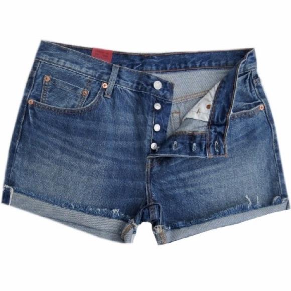9509469e Levi's Shorts   Nwt Levis 501 Ct Womens Button Fly Denim   Poshmark